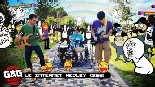 The-gag-quartet-le-internet-medley